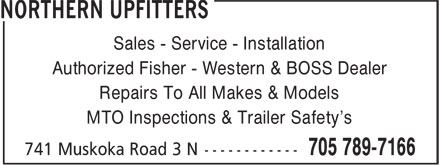 Ads Northern Upfitters