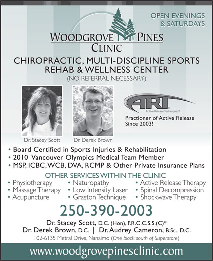 Ads Woodgrove Pines Chiropractic