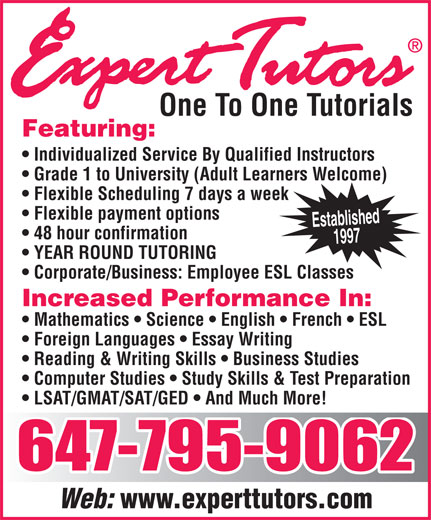 Ads Expert Tutors