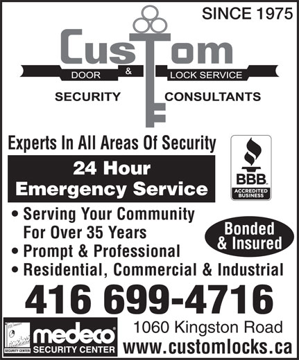 Ads Custom Door & Lock Service