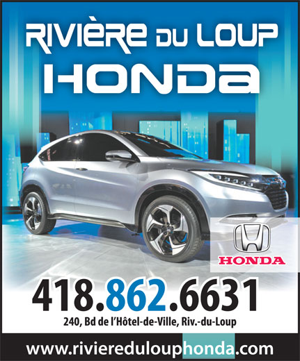 Ads Rivire-du-Loup Honda