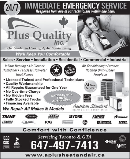 Ads A Plus Quality Inc