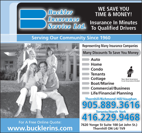 Ads Buckler Insurance Service Limited