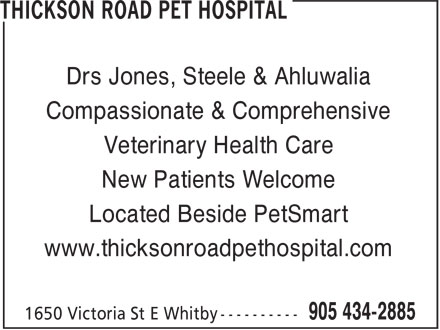 Ads Thickson Road Pet Hospital