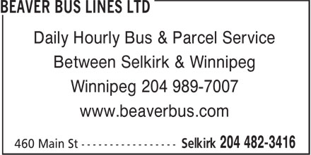 Ads Beaver Bus Lines Ltd
