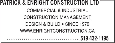 Ads Enright Construction