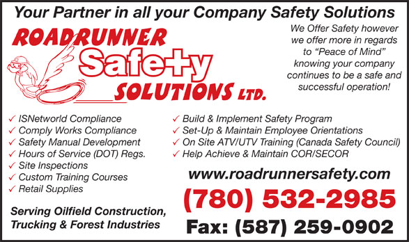 Ads Road Runner Safety Solutions Ltd