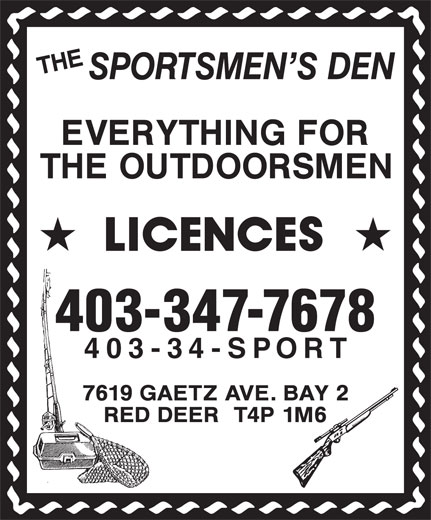 Ads Sportsmen's Den, The