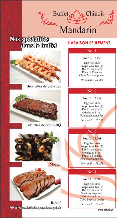 Restaurant Chinois Rue St Hubert Montreal