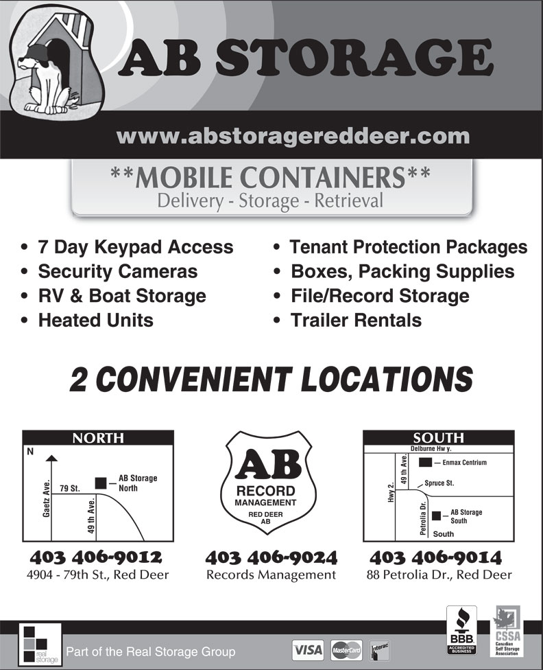 Ads AB Storage Ltd