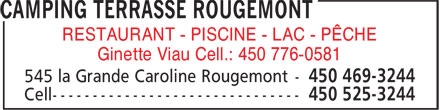 Camping Terrasse Rougemont Inc. - Facebook