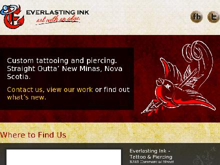 Everlasting Ink Tattoo & Piercing (902-681-3025) - http:/